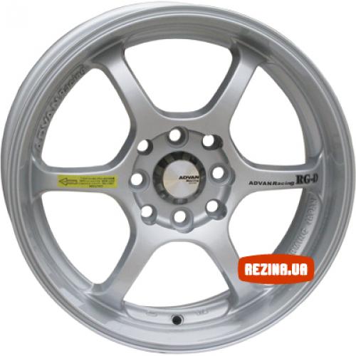 Купить диски Advan 671 RG-D R16 5x108 j7.0 ET40 DIA67.1 silver