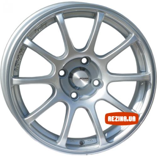 Купить диски Advan 833 RS R15 4x114.3 j6.5 ET35 DIA67.1 silver