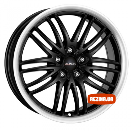 Купить диски Alutec Black Sun R18 5x100 j8.5 ET35 DIA57.1 racing black lip polished