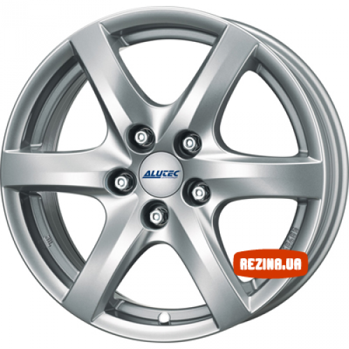 Купить диски Alutec Blizzard R15 4x100 j6.0 ET37 DIA63.4 polar silver