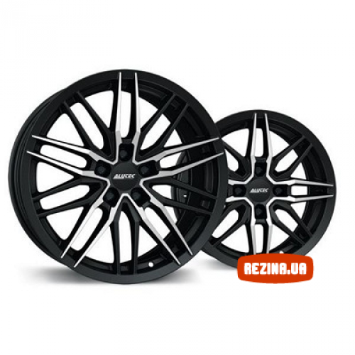 Купить диски Alutec Burnside R16 5x100 j7.0 ET38 DIA57.1 diamond black front polished
