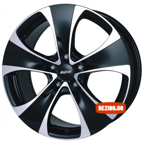 Купить диски Alutec Dynamite R18 5x114.3 j8.5 ET35 DIA76.1 diamond black front polished