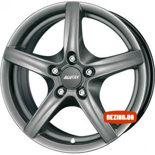 Купить диски Alutec Grip R16 4x100 j7.0 ET35 DIA63.3 graphite