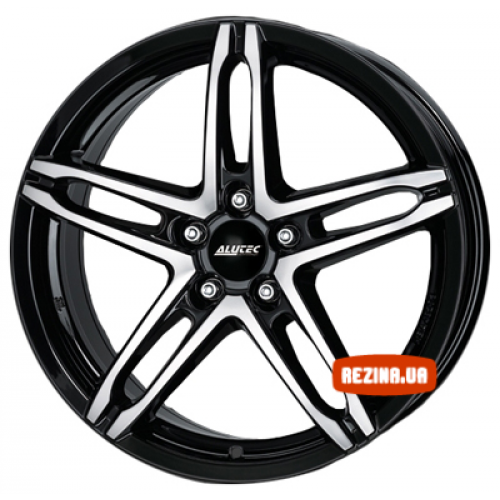 Купить диски Alutec Poison R16 5x100 j7.0 ET38 DIA63.4 diamond black front polished
