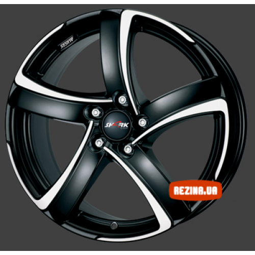 Купить диски Alutec Shark R15 5x112 j6.0 ET45 DIA57.1 racing black front polished