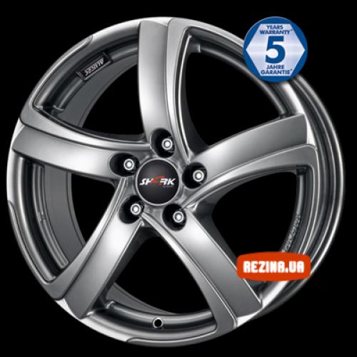 Купить диски Alutec Shark R17 5x105 j7.5 ET35 DIA56.6 sterling silver
