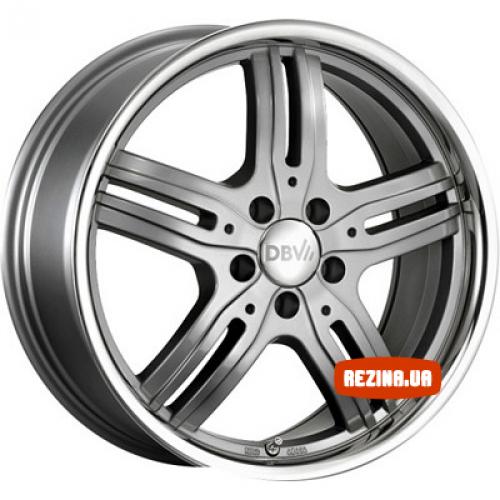 Купить диски DBV Costano R17 5x110 j8.0 ET40 DIA65.1 anthrazit / edelstahl ring