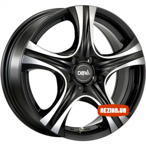 Купить диски DBV Malaya R16 5x100 j6.5 ET40 DIA63.3 schwarz / front poliert