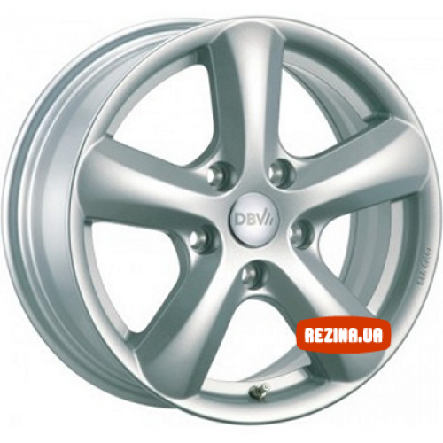 Купить диски DBV Samoa R15 4x108 j6.0 ET25 DIA65.1 серебро