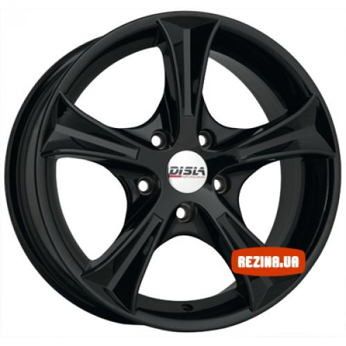 Купить диски Disla 406 R14 4x100 j6.0 ET37 DIA67.1 Black