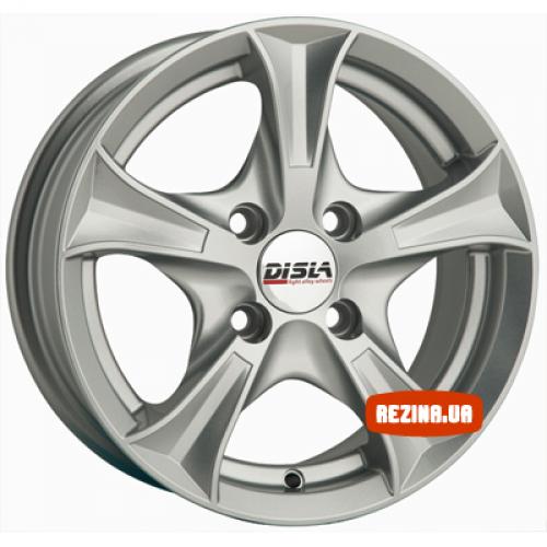 Купить диски Disla 406 R14 4x100 j6.0 ET37 DIA67.1 silver