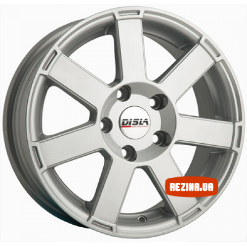 Купить диски Disla 601 R16 5x120 j7.0 ET38 DIA65.1 silver