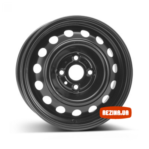 Купить диски KFZ 7230 Kia R14 4x100 j5.5 ET46 DIA54.1 черный