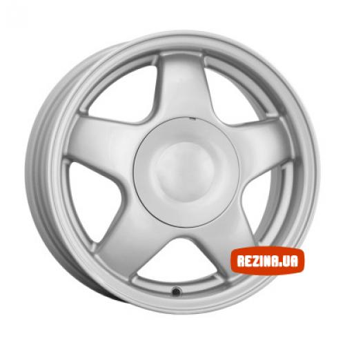 Купить диски КиК 5 спиц R14 4x98 j5.5 ET35 DIA58.5 silver