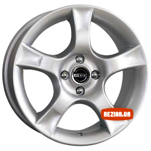 Купить диски КиК Аура R16 4x114.3 j7.0 ET38 DIA67.1 silver