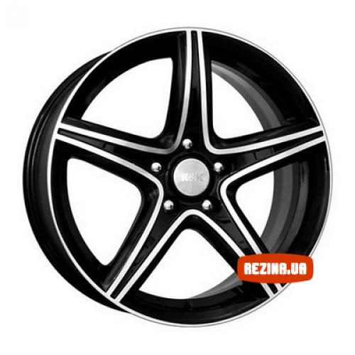 Купить диски КиК Барракуда R17 5x110 j7.5 ET30 DIA65.1 алмаз черный