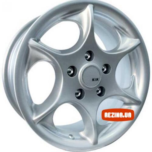 Купить диски КиК Дракон R14 5x114.3 j6.0 ET35 DIA67.1 silver