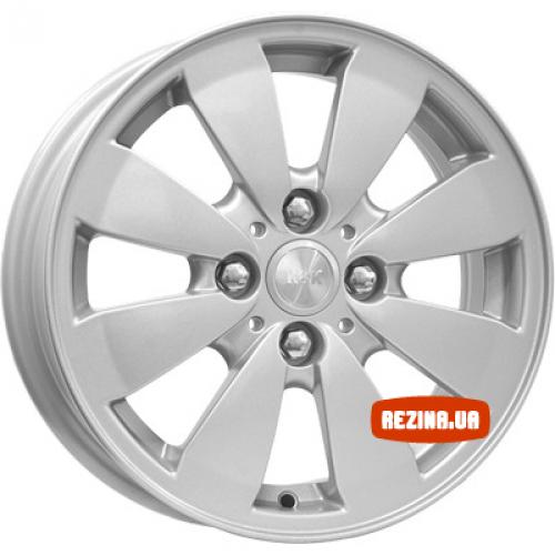 Купить диски КиК Гранта Норма (КС577) R14 4x98 j5.5 ET35 DIA58.5 silver