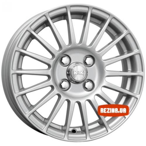 Купить диски КиК Калина-Спорт R14 4x98 j5.5 ET35 DIA58.5 silver