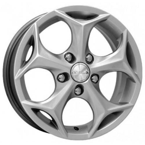Купить диски КиК Кристалл R15 5x108 j6.0 ET40 DIA67.1 серебро алмаз