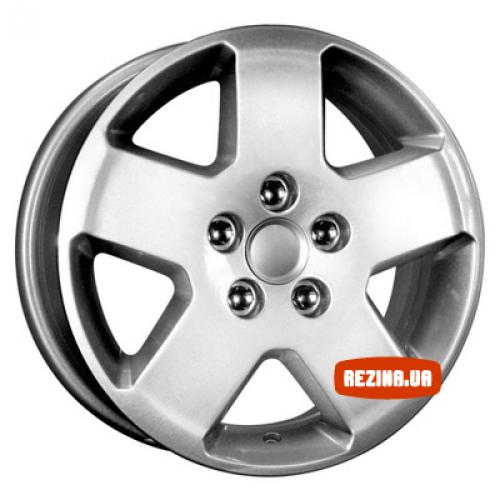 Купить диски КиК КС294 (Ford С-Мax) R15 5x108 j6.0 ET52.5 DIA63.3 silver
