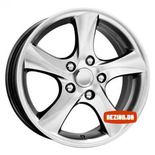 Купить диски КиК КС395 (Mazda 6) R16 5x114.3 j7.0 ET55 DIA67.1 silver