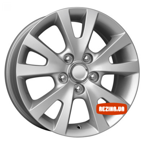 Купить диски КиК КС396 (Mazda 3) R16 5x114.3 j6.5 ET52.5 DIA67.1 silver