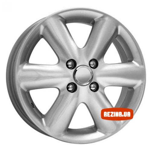 Купить диски КиК КС427 (Nissan Note) R15 4x100 j5.5 ET45 DIA60.1 silver