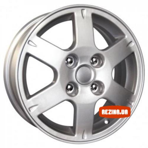 Купить диски КиК КС501 (Mitsubishi Lancer X) R16 5x114.3 j6.5 ET46 DIA67.1 silver