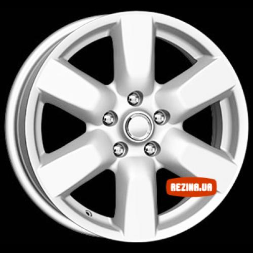 Купить диски КиК КС507 (Nissan X-Trail T31) R17 5x114.3 j6.5 ET45 DIA66.1 silver