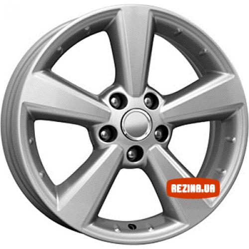 Купить диски КиК КС508 (Nissan Qashqai) R17 5x114.3 j6.5 ET40 DIA66.1 silver