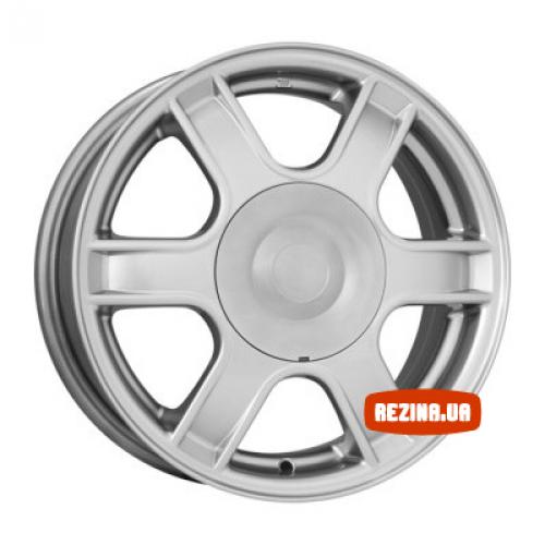 Купить диски КиК КС576 (Dacia Logan) R14 4x100 j5.5 ET43 DIA60.1 silver