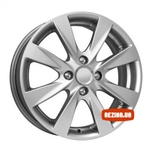 Купить диски КиК КС581 (Hyundai Solaris) R15 4x100 j6.0 ET48 DIA54.1 silver