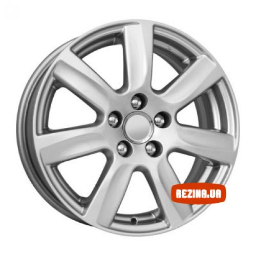 Купить диски КиК КС585 (Volkswagen Polo) R15 5x100 j6.0 ET40 DIA57.1 silver