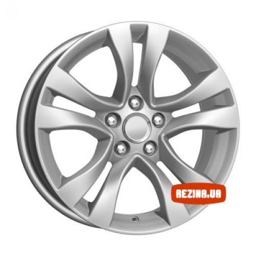Купить диски КиК КС659 (Cruze) R16 5x105 j6.5 ET39 DIA56.6 silver