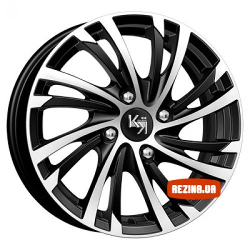Купить диски КиК Мейола (КС643) R15 4x100 j6.0 ET38 DIA67.1 алмаз черный