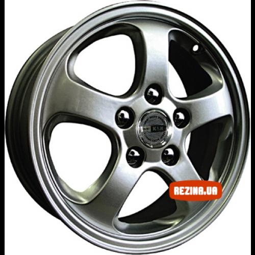 Купить диски КиК Тамерлан-Вива R15 5x110 j6.0 ET49 DIA65.1 silver