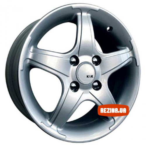 Купить диски КиК Тверца R14 4x98 j6.0 ET38 DIA58.6 silver