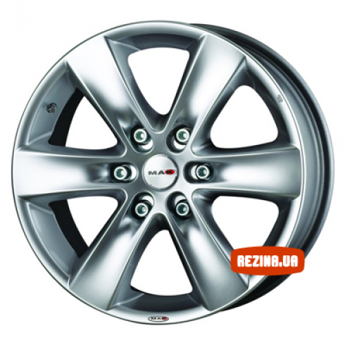 Купить диски Mak Sierra R18 6x139 j8.0 ET35 DIA112 silver