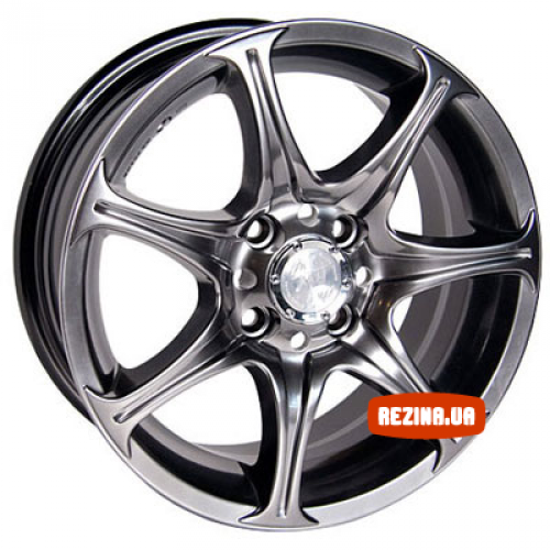 Купить диски Racing Wheels H-134 R13 4x98 j5.5 ET35 DIA58.6 BK-F/P