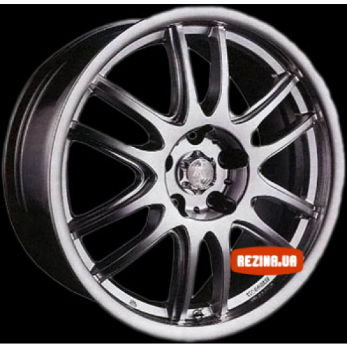 Купить диски Racing Wheels H-287 R15 5x114.3 j6.0 ET45 DIA67.1 GM-F/P