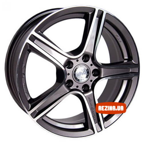 Купить диски Racing Wheels H-315 R17 5x108 j7.0 ET52.5 DIA63.4 GM-F/P