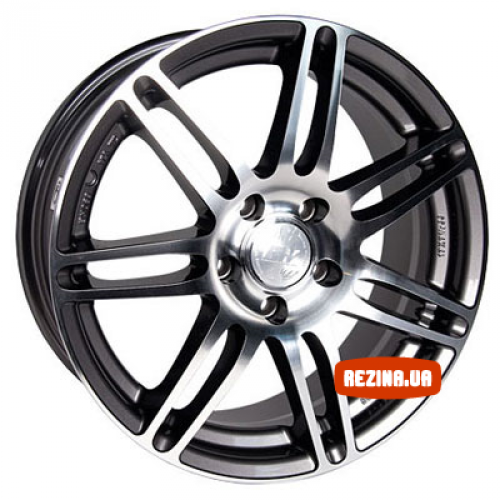 Купить диски Racing Wheels H-349 R18 5x120 j8.0 ET37 DIA72.6 GM-F/P