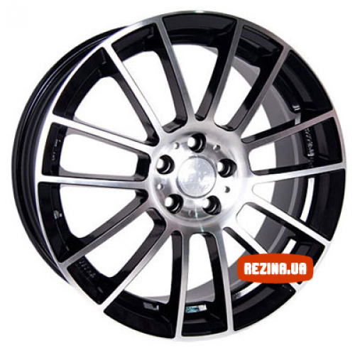 Купить диски Racing Wheels H-408 R17 5x100 j7.5 ET45 DIA73.1 BK-F/P