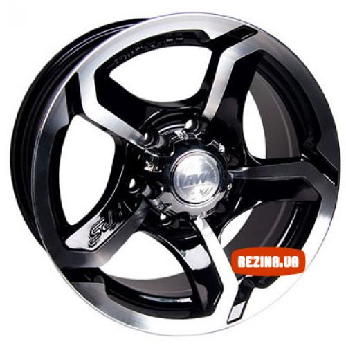 Купить диски Racing Wheels H-409 R15 5x139.7 j7.0 ET0 DIA108.2 BK-F/P