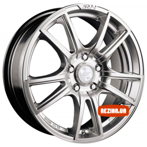 Купить диски Racing Wheels H-411 R14 4x100 j6.0 ET38 DIA67.1 BK-F/P