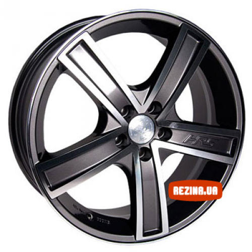 Купить диски Racing Wheels H-412 R15 4x100 j6.5 ET40 DIA67.1 BK-F/P