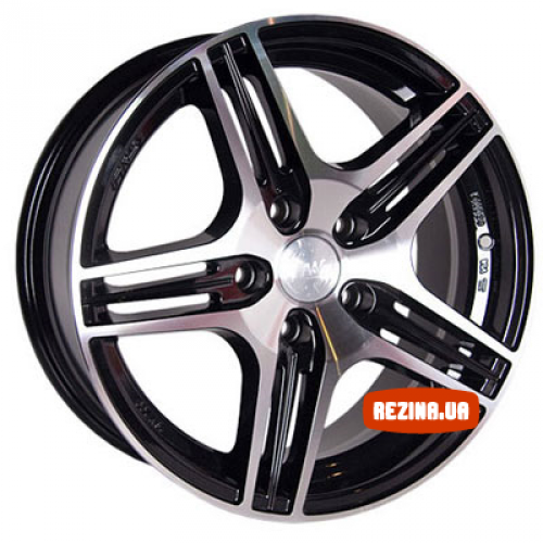 Купить диски Racing Wheels H-414 R16 5x114.3 j7.0 ET40 DIA67.1 BK-F/P