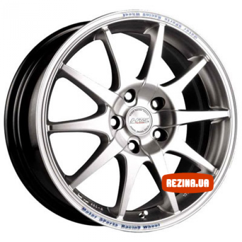 Купить диски Racing Wheels H-415 R16 5x114.3 j7.0 ET40 DIA67.1 BK-F/P