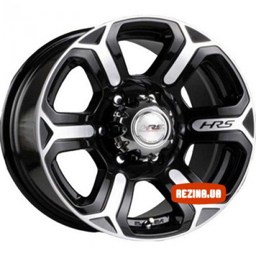 Купить диски Racing Wheels H-427 R17 6x139.7 j8.0 ET20 DIA110.5 BK/FP